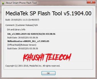 Sp Flash Tool Latest Version V5 1904 Download -