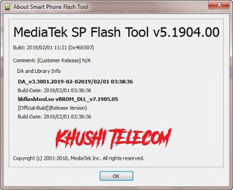 Mt6739 Flash Tool