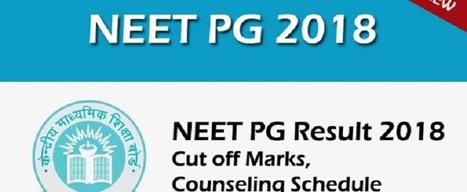 Download NEET PG 2018 Seat Allotment List PDF /