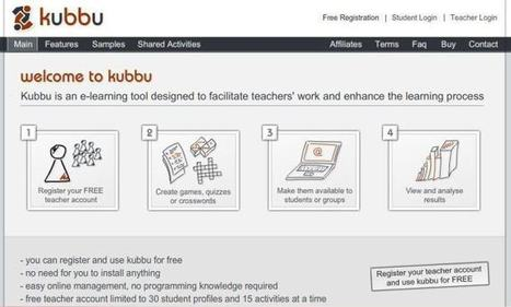 Kubbu. Créer des exercices multimédia en ligne – Les Outils Tice | Les TIC : des outils et des pratiques pédagogiques | Scoop.it