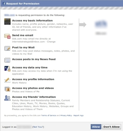 Facebook Permissions: What Marketers Need to Know | veille Social Media | Scoop.it