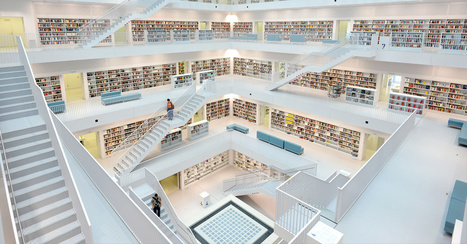 Les bibliothèques les plus spectaculaires du monde | Thrillers + | Scoop.it