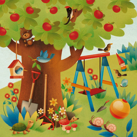 Gaia Bordicchia Illustrations: Où est caché mon doudou?   FLE enfants   Scoop.it