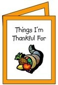 Thankful Writing Craftivity | Seasonal Freebies for Teachers | Scoop.it
