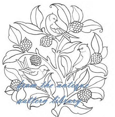 Needlecraft: Free Designs for Embroidery from The Antique Pattern Library | Artistic Line Designs-all free | Scoop.it