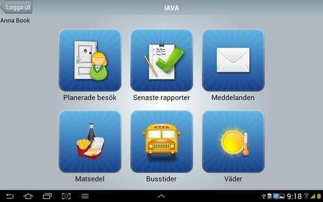 Intraphone iAVA Informationsapp för vårdtagare och närstående - Upptäck välfärdsteknologi! | IT-Lyftet & IT-Piloterna | Scoop.it