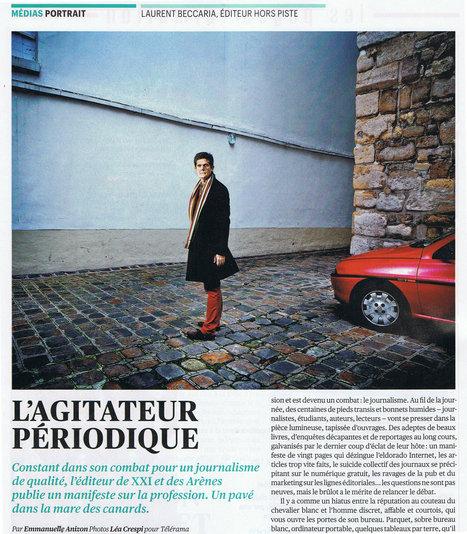 Laurent Beccaria, l'agitateur périodique   DocPresseESJ   Scoop.it