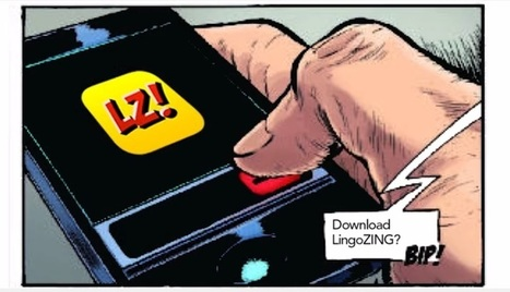 Holy Language Barrier, Batman! New LingoZing App Teaches New Language By Reading Comic Books   Technology and language learning   Scoop.it