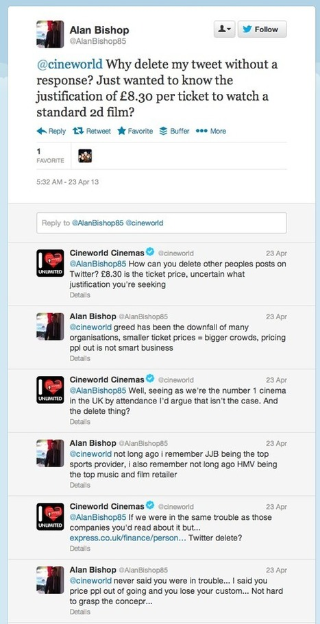 How should you respond to awkward customers on social media? | Econsultancy | Diane Dennis Public Relations | Scoop.it