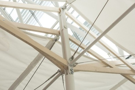 James latham in architecture design innovation scoop plywood canopy gives london hospital the wow factor architecture design innovation scoop malvernweather Choice Image