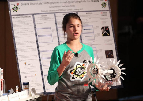 15-year-old invents $12 probe that harnesses energy from ocean currents - Interesting Engineering | Educational technology | Scoop.it