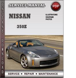 nissan 350z workshop manual download