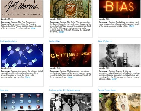 Newseum Digital Classroom | Video Lessons | Ed Tech | Scoop.it