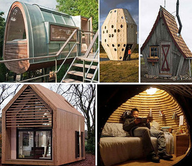 5 Weird and Cool Mini Houses That Maximize Space | Inspired By Design | Scoop.it