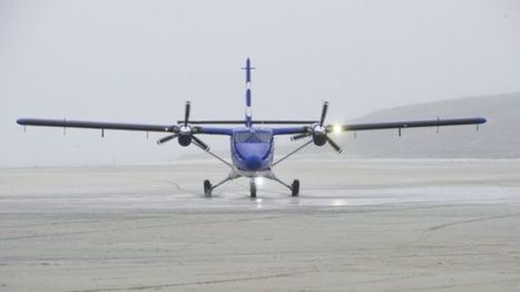 Highlands and Islands Airports Ltd records busiest year - BBC News | Sustainable Tourism | Scoop.it