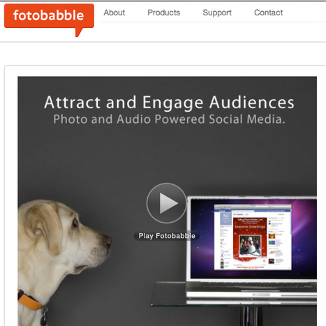 Welcome to Fotobabble - Talking Photos | Technology for Language Learning | Scoop.it