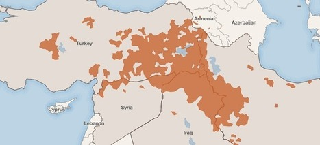 The State Of The Kurds - Brilliant Maps | Spatial literacy | Scoop.it