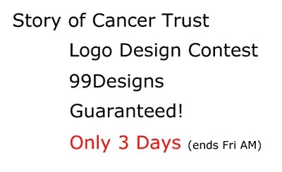 Logo For Story of Cancer Trust Design Contest via @99designs | Personal Branding Using Scoopit | Scoop.it