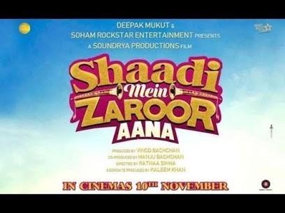Download Shaadi Mein Zaroor Aana Movie Torrent 1080p