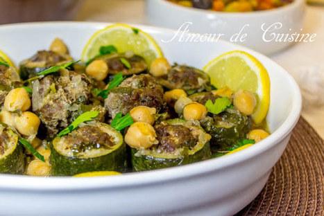 Dolma courgettes courgettes a la viande hachée | Cuisine Algerienne, cuisine du monde | Scoop.it