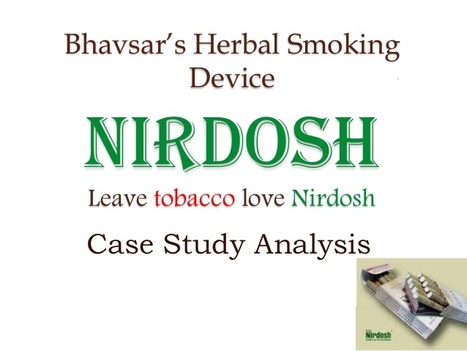 FREE MBA PROJECTS: Nirdosh Case Study Analysis