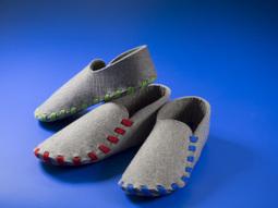 12b2e35f33dcf Des pantoufles DIY et confortables avec Lasso  ...