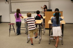 A new twist on concentration: Standing while you work   21st Century Learning   Scoop.it