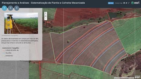 Sistematização de Plantio e Colheita Mecanizada | ArcGIS Geography | Scoop.it