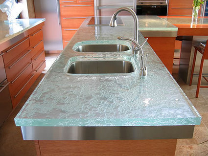 Quartz vs granite countertops engineered ston for Engineered quartz countertops