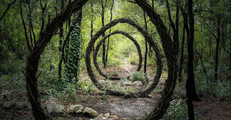 Artist Spends Year Alone In Forest Creating Organic Works Of Art | TIMEWHEEL | The Landscape Café | Scoop.it