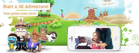 Chromville. App juego de realidad aumentada con dibujos que cobran vida   REALIDAD AUMENTADA Y ENSEÑANZA 3.0 - AUGMENTED REALITY AND TEACHING 3.0   Scoop.it