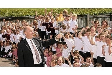 1948 torch cheered on at school - This is Somerset | 1948 London Olympics | Scoop.it