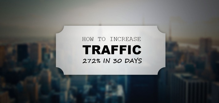 Content Marketing Case Study: How To Increase Traffic 272% In 30 Days (Without Spending A Penny) | Readin', 'Ritin', and (Publishing) 'Rithmetic | Scoop.it