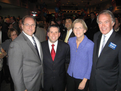 photo: Great night in Everett w/ @ElizabethforMA, @MikeCapuano & @EdMarkeyComm in honor of @SenDiDomenico | Massachusetts Senate Race 2012 | Scoop.it