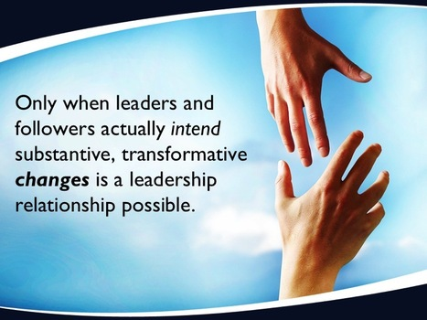 Follower Behavior and Organizational Performance: The Impact of Transformational Leaders | Leadership, Management and EVOLVABILITY | Scoop.it