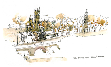 Your Secret Winter Drawing Spots: Send my publisher a Comment and Win a Copy of The Urban Sketcher! | Explore & document the World | Scoop.it