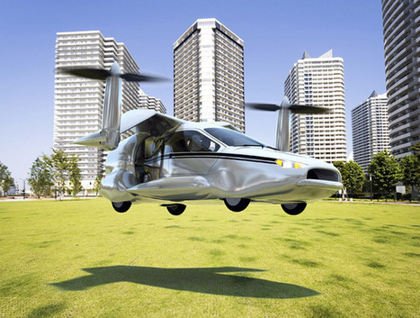 Introducing the Hybrid-Electric Flying Car of the Future - My Modern Metropolis   Le It e Amo ✪   Scoop.it