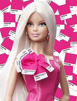 An Official Pantone Barbie! That's Right. Mattel's New Pink in Pantone Barbie Doll. | Fashion Dolls | Scoop.it