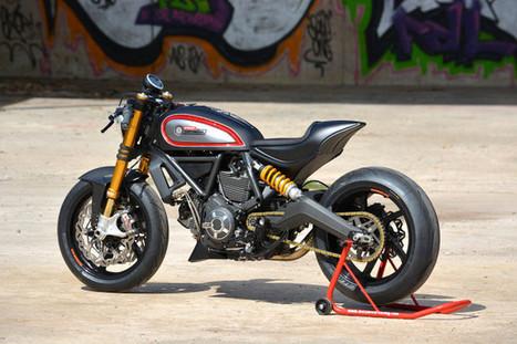 Showstopper: Marcus Walz's Ducati Scrambler | Ductalk Ducati News | Scoop.it