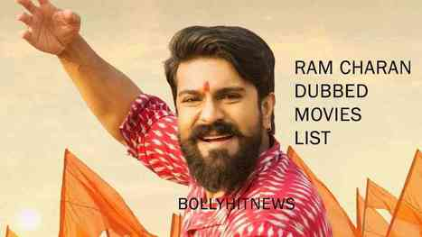 Complete List of Hindi Dubbed Movies of Ram Cha