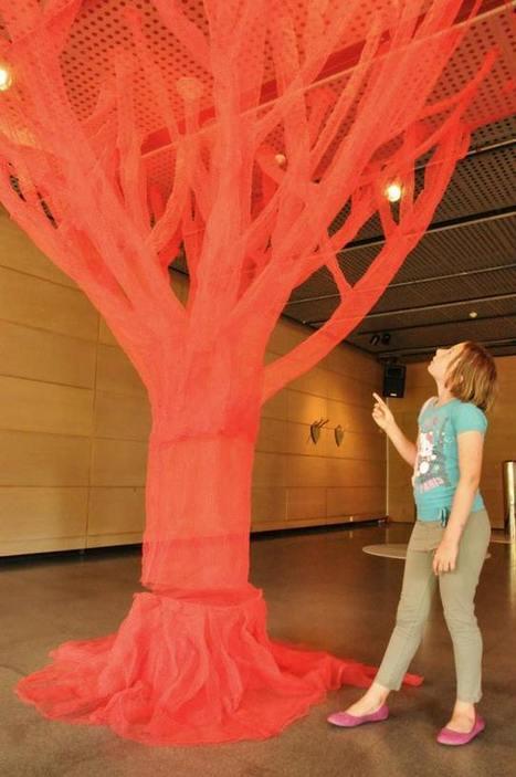 "Shigeko Hirakawa: ""Red Tree"" | Art Installations, Sculpture, Contemporary Art | Scoop.it"
