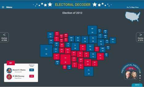 PBS Election Central | Rhode Island Geography Education Alliance | Scoop.it