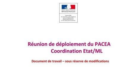 Présentation Pacea DGEFP du 18 janvier 2017 | Culture Mission Locale | Scoop.it