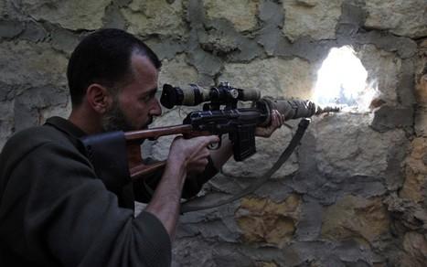 Syrian shells hit Turkish border town  - Telegraph   Revolution News Syria   Scoop.it