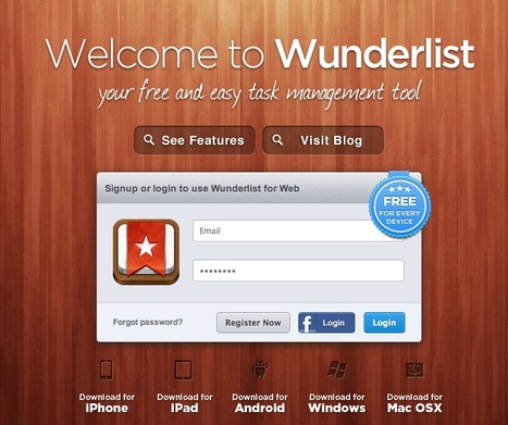 Wunderlist ist wunderbar -  Task Management At Its Best | Pedalogica: educación y TIC | Scoop.it