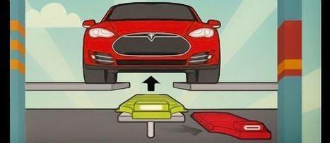 Tesla ouvre sa première station d'échange de batterie - Le Point | Informatique et autres geekeries | Scoop.it