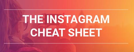 The Ultimate Instagram Cheat Sheet | Top Social Media Tools | Scoop.it