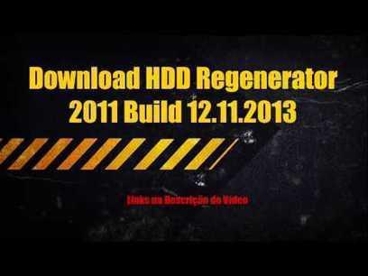 serial number hdd regenerator 2011 txt