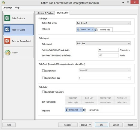 How to Add Tabs to Microsoft Office   Outils qui vont bien   Scoop.it