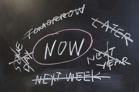 Why Wait? The Science Behind Procrastination | Positive futures | Scoop.it